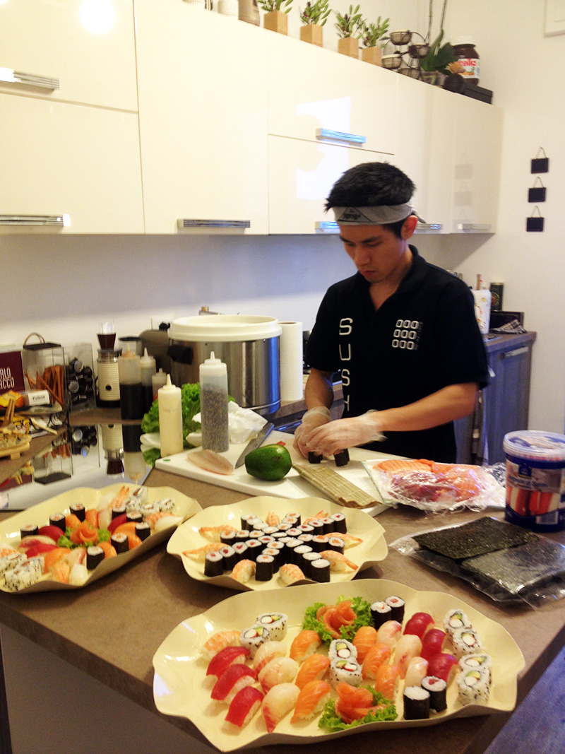 chef a domicilio sushi inside low cost